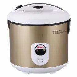 Deluxe Golden Quba 2.8 Liter Rice Cooker, For Home