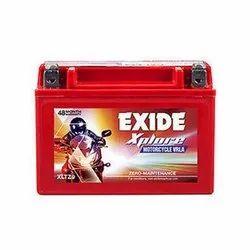 Capacity: 12V Exide Xplore Xltz9 Battery - XLTZ9