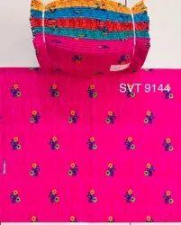 For Garment Vintage Print Cotton Fabric