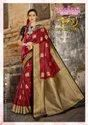 PATANG JULAHAA Soft Silk Checks Weaving Sarees