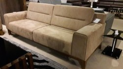 Modern Living Room Designer Two Seater Sofa, For Sitting