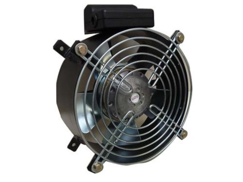 Axial Fan With Basket Grill