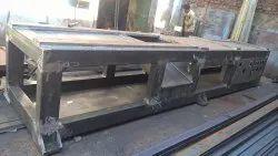 Mild Steel Ms machine base frame in Gujarat, in Pan India
