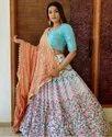 Present New Designer Lahenaga Choli With Embroidery Work
