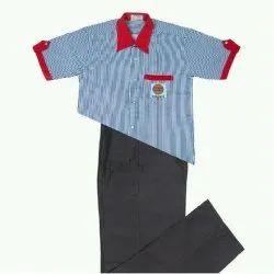 Cotton Mens Petrol Pump Uniform