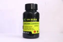 Go Herb Garcinia Cambogia Extract Capsules, For Personal, Packaging Size: 60 Capsule
