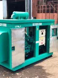 100 Kva Ashok Leyland Second Hand Diesel Generator Set., 3 Phase