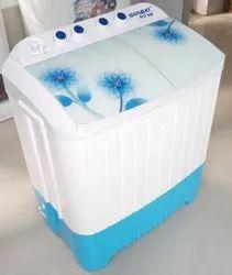Shivaki Fully Automatic 9 Kg White And Blue Washing Machine