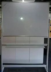 Magnetic White Marker Board With Stand