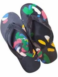 Hawaii Mens Casual Rubber Slipper, Size: 5