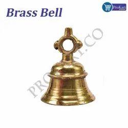 Prokart Brass Pooja Bell (Gold)