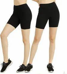 Regular Wear Jumpers & Rompers Girls Cotton Lycra Shorts