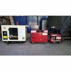 Sachin Electricals 230 Volt Industrial Portable Generator Rental Service, 1 Phase