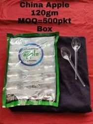 Plastic 100 Pcs transparent disposable spoon, For Event and Party Supplies