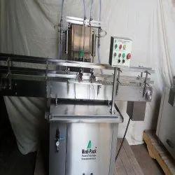 Dish Wash Filling Machine