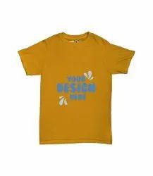 Mustard Kids Printed Cotton T Shirt