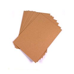 Brown Rectangular Plain Kraft Paper, Packaging Type: Roll, 45 Gsm