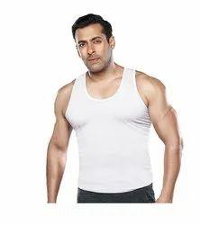 Half Sleeves Regular Mens Cotton Inner Vest, Size: 85-90 (cm)