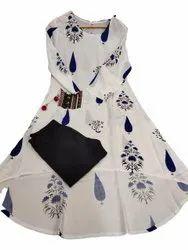 Ladies Designer Anarkali Suits, Dry clean