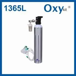 Oxy Kit Portable Medical Oxygen Cylinders (1365 LITERS)