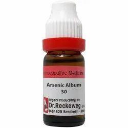 30 Arsenicum album Homoeopathic Medecine, 11 Ml, Non prescription