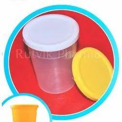 Plastic Glass Type Bottle