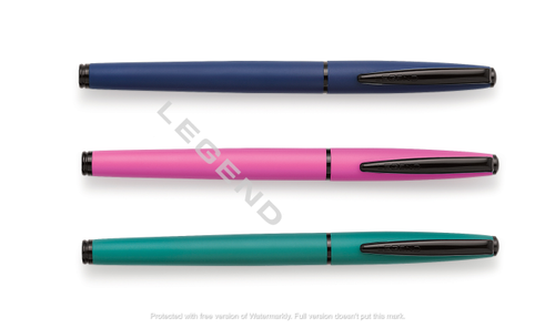 R-1288 Black Parts Metal Roller Pen