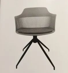 Moulded Cafeteria Chair - Toxy Metal