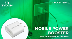 Tyoon PB402 Power Adaptor With Cable