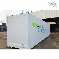Crystal PUF Insulated 40 Feet Refurbished Container