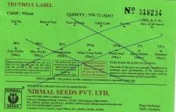 Tag Paper Green Seed Labelling