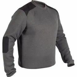 Daso Round Mens Fleece Full Sleeve Pullover Sweater