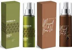 Herbal Hair Oil Packaging Design