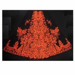 Machine Embroidered Lehenga