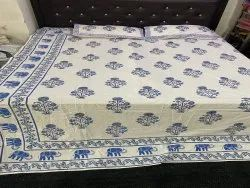 Hand Block Printed Cotton Bed Sheets