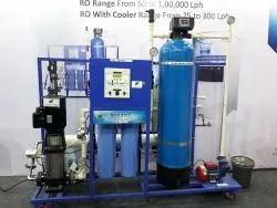 FRP 250 LPH Vertical Industrial RO, Multi-Grade Filter