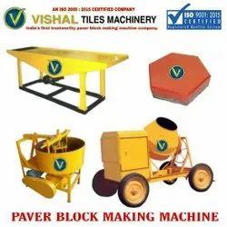 Parking Tiles Making Machine