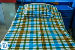 Hospital PC Bed sheet, Size: 60X90