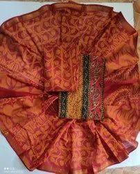 Ladies Printed Suit Fabric