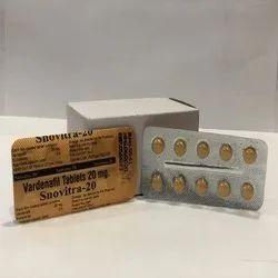 Snovitra 20 mg (Vardenafil )