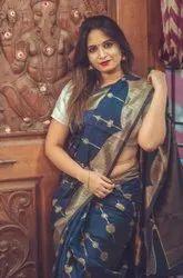 Presentkota  Silk Saree Beautiful Rich Pallu & Jacquard Work