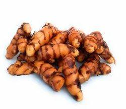 Dhanowa Greens Fresh Organic Turmeric Roots( Free World Wide Shipping), Packaging Type: Plastic Bag