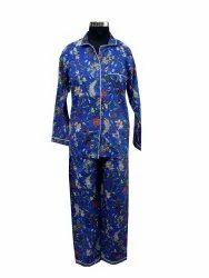 Women's Kurta Style Night Suit