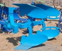 Wegman Hydraulic Reversible Plough, For Agriculture, 4 Tyne