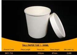 Food Packaging Paper Box 500 ml
