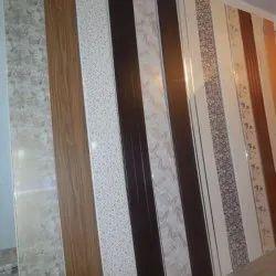 Flat Fancy PVC Wall Panel