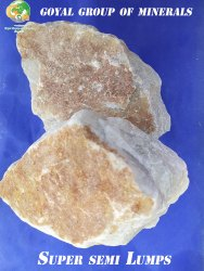 Quartz Rock, Packaging Type: Packet, Grade: B Grade