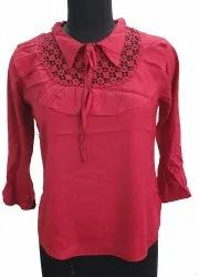 Rayon Red Top