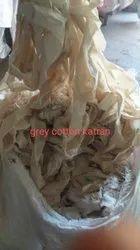 Grey Cotton Katran Waste Cloth