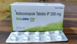 Ketoconazole Tablet I P 200mg
